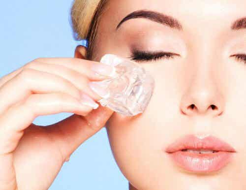 Rejuvenate Your Face with Ice Therapy