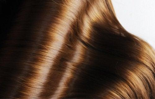 2 shiny hair