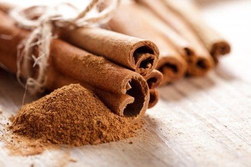 3 cinnamon