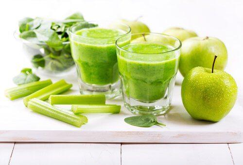 5 green juice