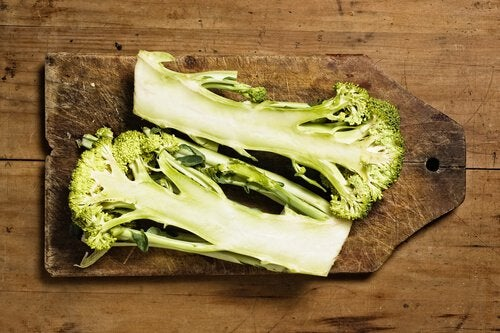 broccoli-stem