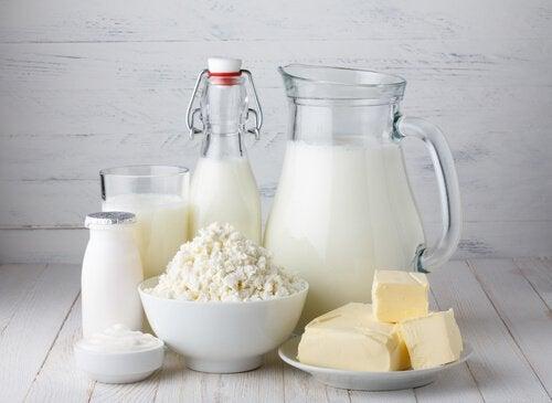 Maitotuotteet lisäävät liman määrää