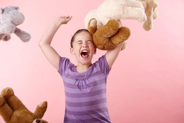Lasten kasvatus hermoräjähdys