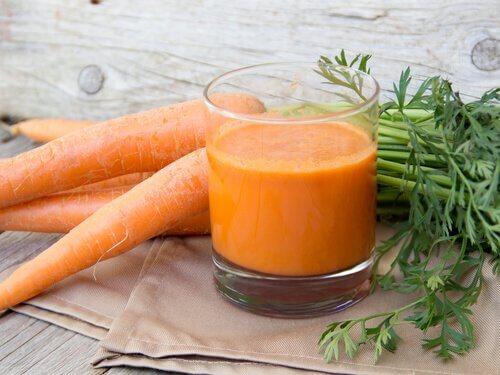 2 carrot juice