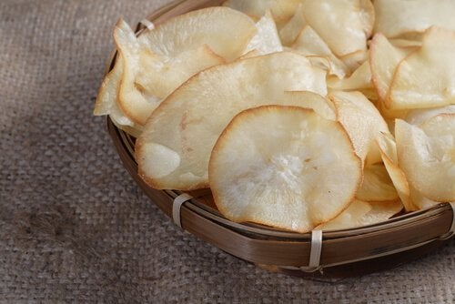 Yucca chips.