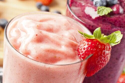 4 strawberry smoothie
