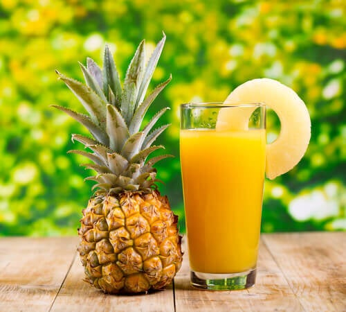 5 pineapple juice to Eliminate Kidney Stones