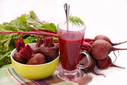 beet juice and beets