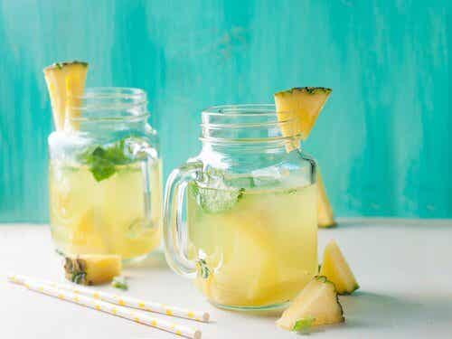 Health Benefits of Drinking Pineapple Water