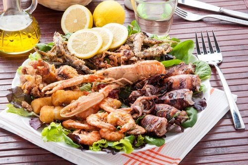 seafood minerals for depression