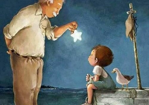 Poika ja isoisä