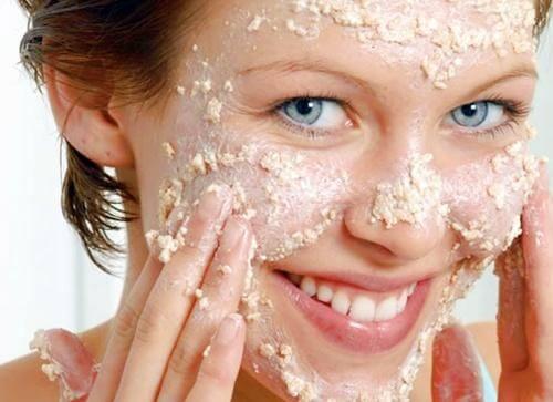 Oats face mask