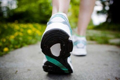 Walking is on the list of tips for better posture