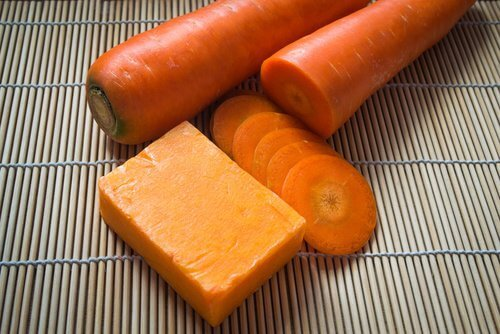 2 cheese and carrot