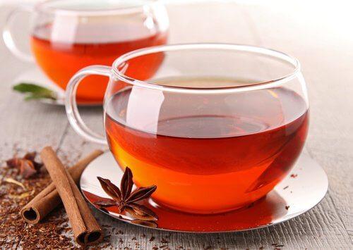2 cinnamon tea