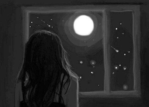 Tyttö ja masennus