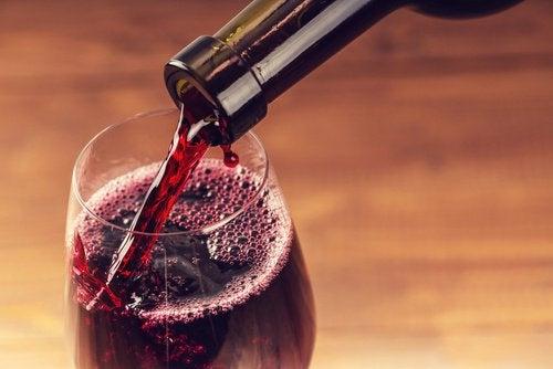 2 red wine