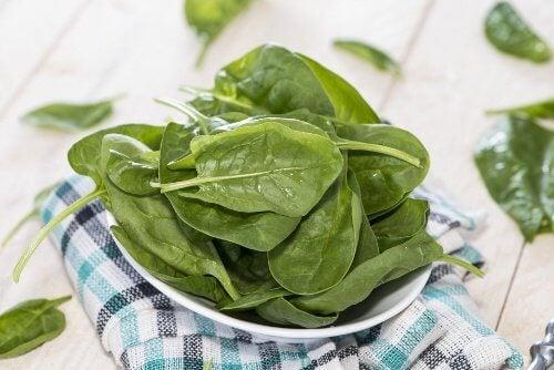 2 spinach