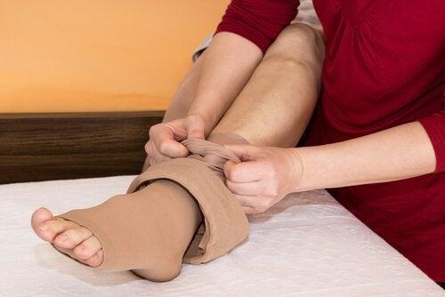 3 compression stocking