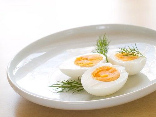 3 hard boiled egg