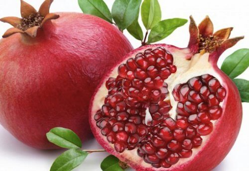 4 pomegranate