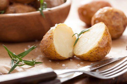 4 potatoes