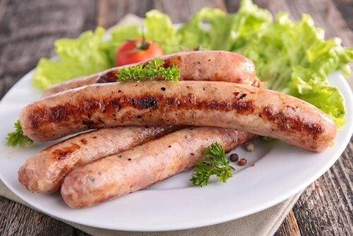 4 sausage