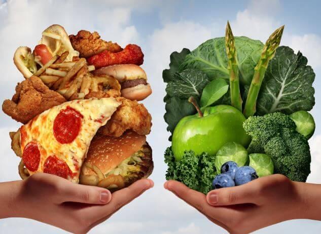 5 food choices