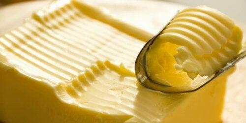 A stick of butter.