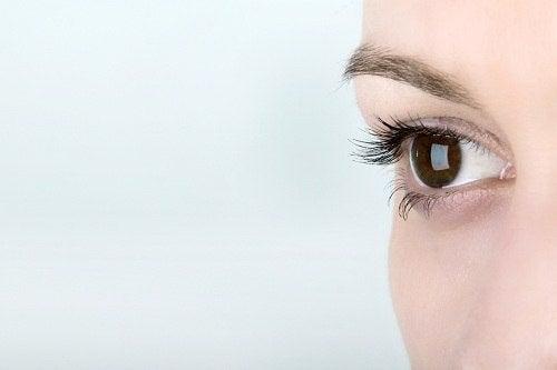 A woman's eye.