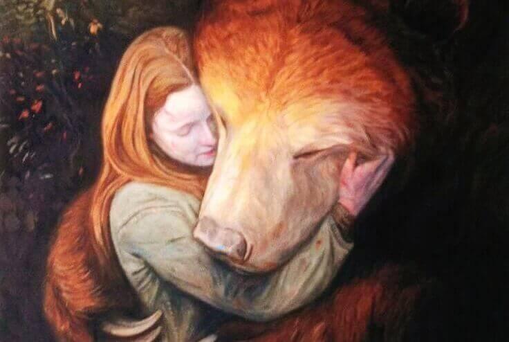 woman-bear