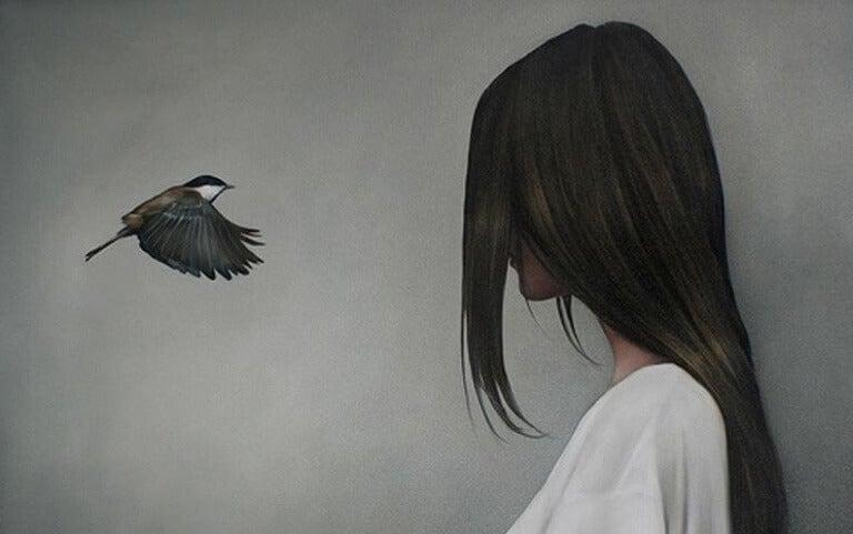 woman-bird