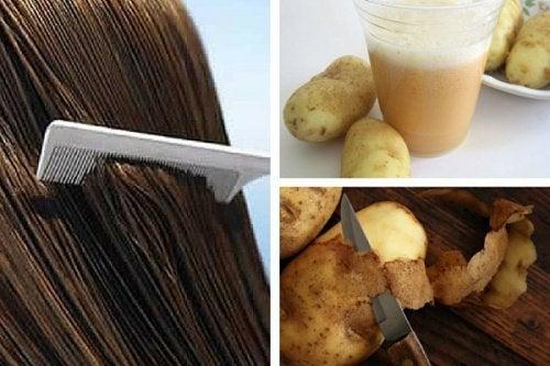 Using Potato Juice to Promote Hair Growth