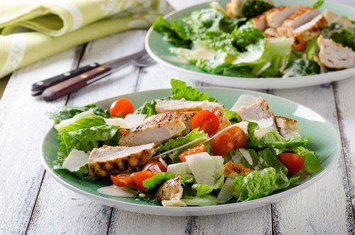 2 healthy salad