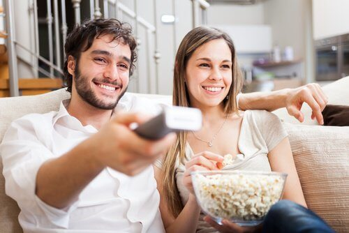 2 watching movies