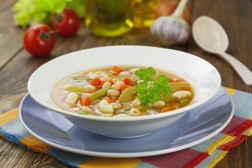 4 bean soup