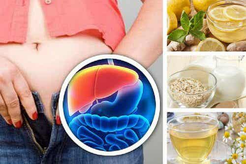Five Healthy Nighttime Drinks to Detox Your Liver and Lose Weight