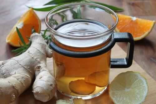 5 ginger tea