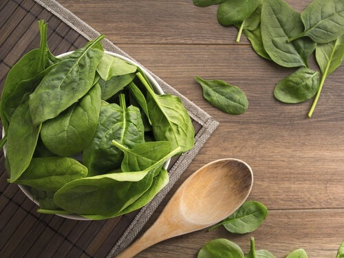 5 spinach