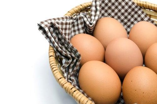 6 eggs
