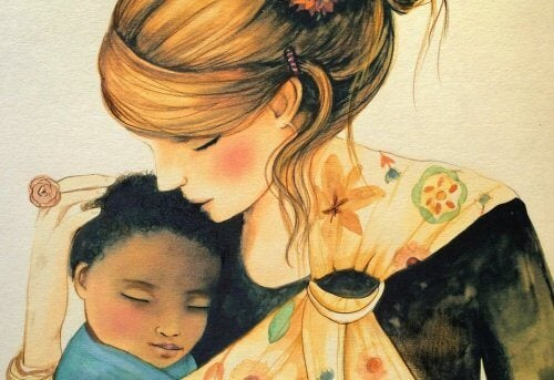 Children need hugs to be part of our world