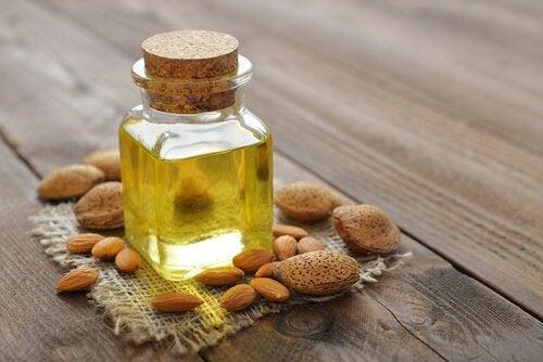2 almond oil