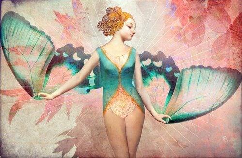 Ei voi olla täydellinen naisperhonen