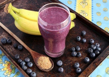 3 blueberry smoothie