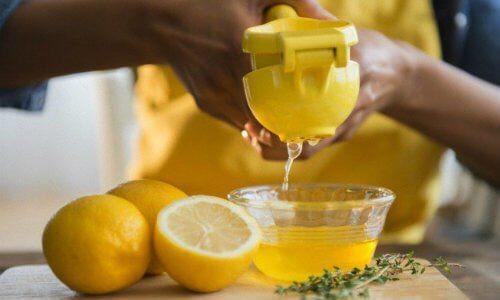 3 lemon juice