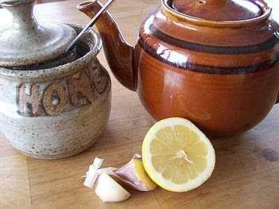 Sitruuna ja valkosipuli