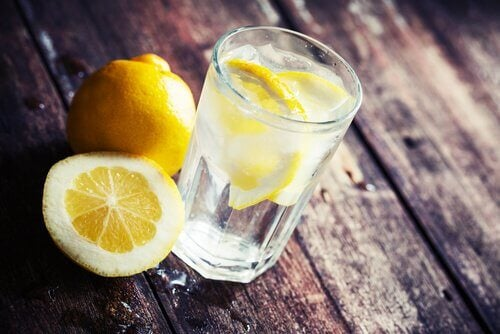 5 lemon water