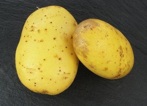 properties in raw potato juice