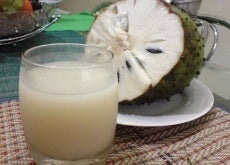 Eating Soursop