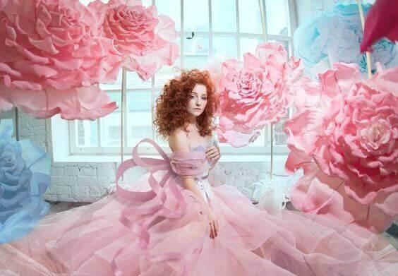 woman-roses
